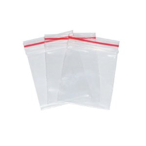 Embalagem Plástica Zip Lock | 4X5,5cm | C/100