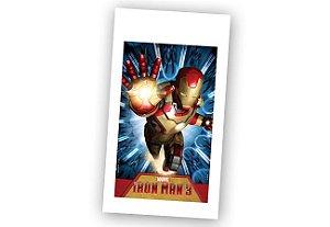 Sacola Plástica Surpresa Homem De Ferro 3 C/08 UN