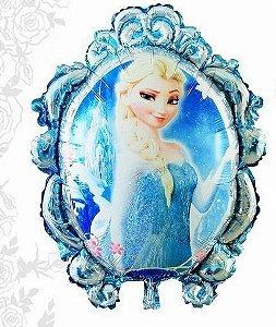 Balão Metal Princesa Do Gelo Azul