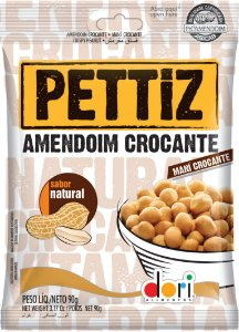 Amendoim Crocante Pettiz Natural 15OGR