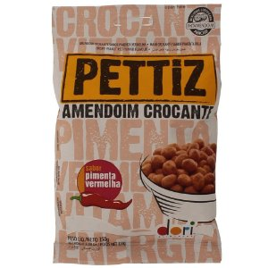 Amendoim Crocante Pettiz Pimenta Vermelha 150GR