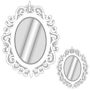 Enfeite Painel em EVA Com Espelho Provençal | C/03