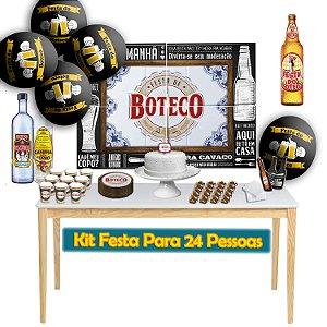 Kit Para Festa do Boteco - Para 24 Pessoas.
