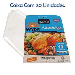 Caixa AssaRápido Cozinha C/20 Pacotes - 41cm x 33cm