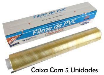 Caixa Filme PVC Wyda C/5 Pacotes - 100m