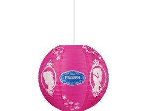 Lanterna De Papel Redonda Frozen 30cm