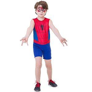 Fantasia Homem-Aranha Curta Clássico