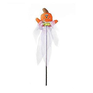 Enfeite Pick Abóbora Halloween