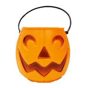 Balde | Caldeirão Abóbora Halloween | Médio