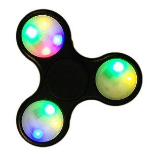 Kit Atacado C/12 Hands Spinners Com Led 3 Estágios