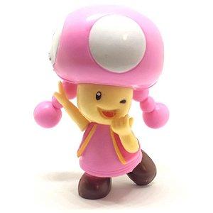 Boneco Toadette - Super Mario Run