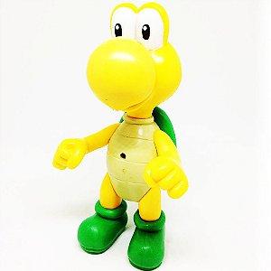 Boneco Koopa Troopa Verde - Super Mario Run