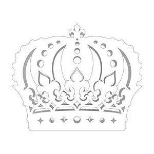 Painel Coroa Grande  Provençal Branca