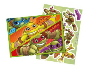 KIT Decorativo Tartarugas Ninjas Kids C/10