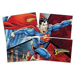Painel 4 Partes Superman