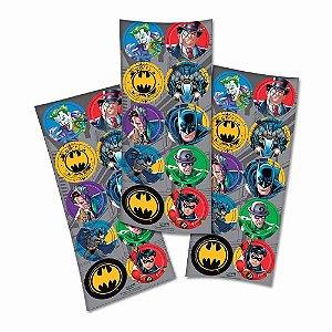 Adesivo Decorativo Redondo Batman