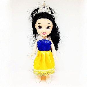 Boneca Mini Princesa Branca de Neve Baby