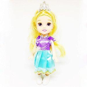 Boneca Mini Princesa Rapunzel  Baby