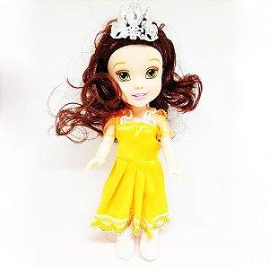 Boneca Mini Princesa Bela Baby