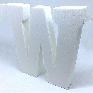 Enfeite Letra ''W'' Provençal Luxo