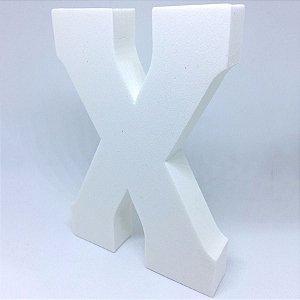 Enfeite Letra ''X'' Provençal Luxo