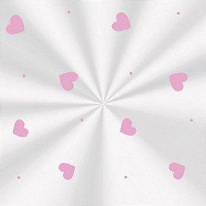Embalagem para Presente Love Rosa   C/100