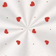 Embalagem para Presente Love Vermelho C/50