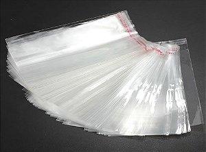 Embalagem Saco Adesivado Transparente 6X25cm C/100