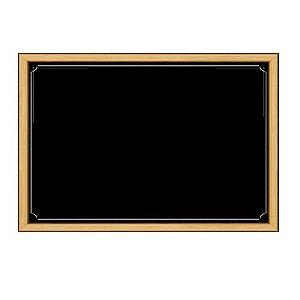 Painel 1 Lamina Quadro Negro