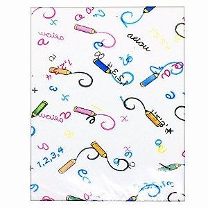 Embalagem para Presente Letras e Números 10x14cm  C/50