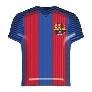 Bandeja Descartável em Papel Camisa Barcelona C/08