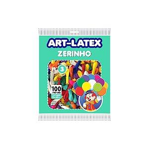 Balão/Bexiga Art-Latex Nº3 | Zerinho Sortido | C/100