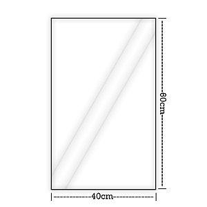 Saco Plástico Transparente | 40x60 | 5kg