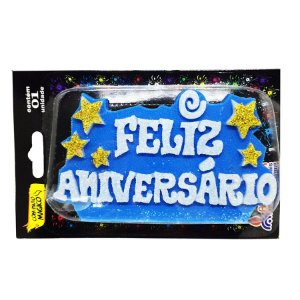 Vela Feliz Aniversario