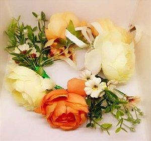 Guirlanda Luxo Flores e Rosas