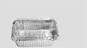 Bandeja Alumínio Tampa Transparente  D6 Wyda 500ml C/10