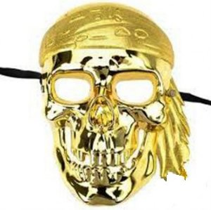 Mascara Caveira Pirata