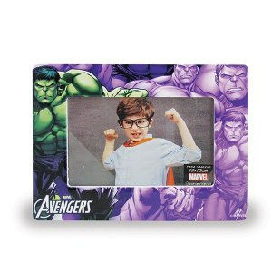 Porta Retrato Hulk Cerâmica Marvel Oficial | 10x15cm
