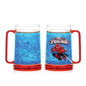 Caneca Gelo Chopp Ultimate Spider Man