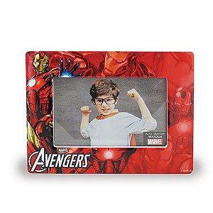 Porta Retrato Iron Man Cerâmica Marvel Oficial | 10x15cm