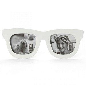 Porta Retratos Óculos Branco