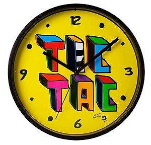 Relógio de Parede Tic Tac