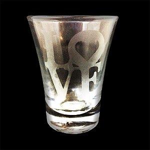 Copo De Shot Love Vidro