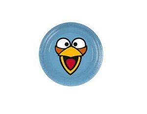 Prato Descartável Angry Birds  C/8