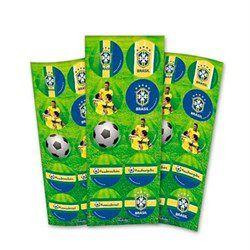 Adesivo Decorativo  Redondo Brasil Futebol