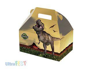 Caixa  Maleta Dinossauro  C/8