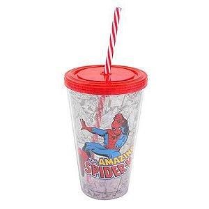 Copo Canudo The Amazing Spider Man