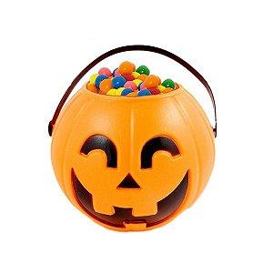 Balde | Caldeirão Abóbora Halloween | Pequeno | Kit C/06