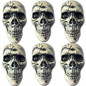 Crânio Pequeno Halloween para Enfeite C/06