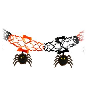 Enfeite / Guirlanda Com Aranha | Halloween